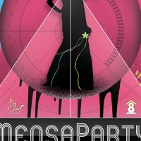 flyer mensaparty märz 2011